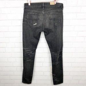 Ralph Lauren Jeans - Ralph Lauren Ripped Black Skinny Jeans Size 30